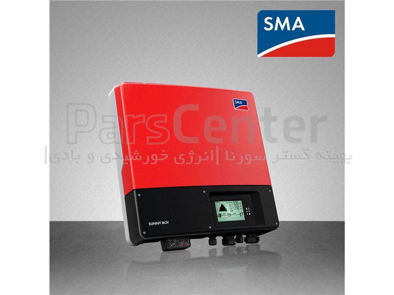 اینورتر خورشیدی متصل به شبکه SMA المان از 1 تا 200 کیلووات تک وسه فاز