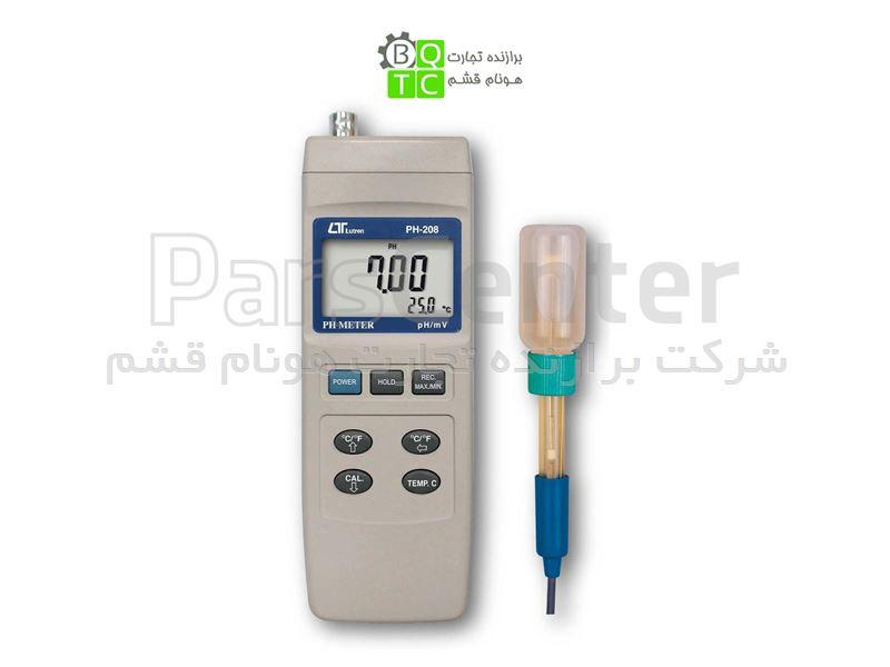 اسید سنج PH متر پرتابل لوترون مدل LUTRON PH-208