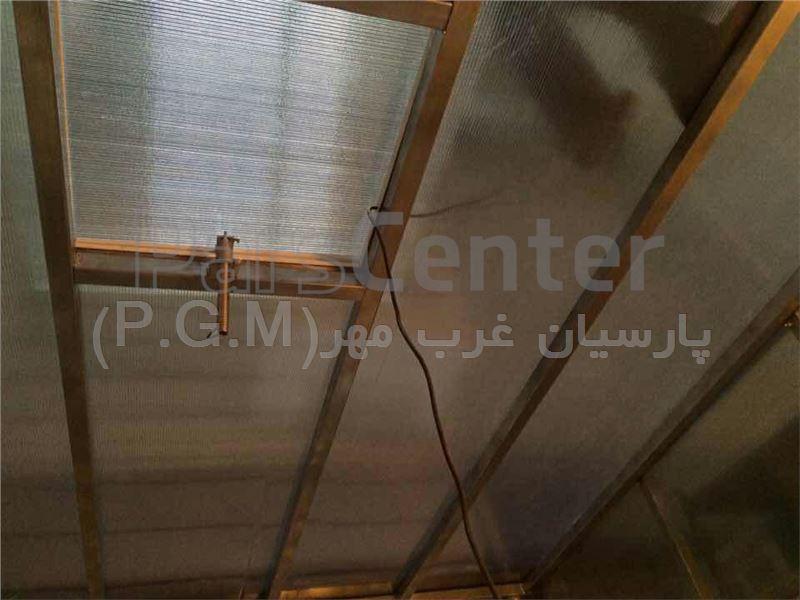 اجرای سقف حیات خلوت (جنت آباد شمالی)