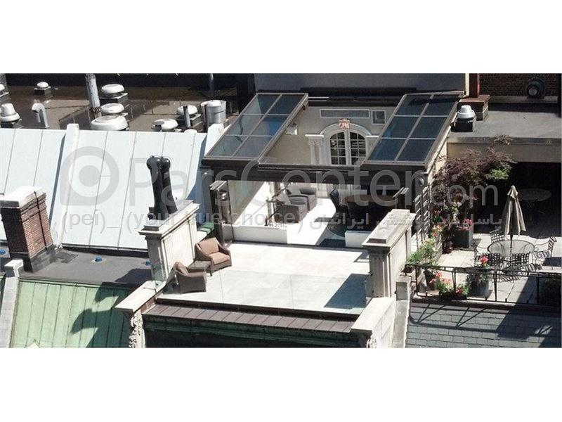 طراحی و ساخت و نصب . اتاقهای بهاری بر روی فضای  پشت بام