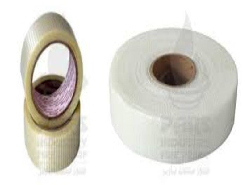 Adhesive fiberglass tape