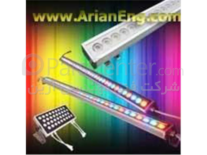 چراغ آبنما، چراغ استخری، نورپردازی آبنما، چراغ زیرآبی، Power Led، سنگ نورانی