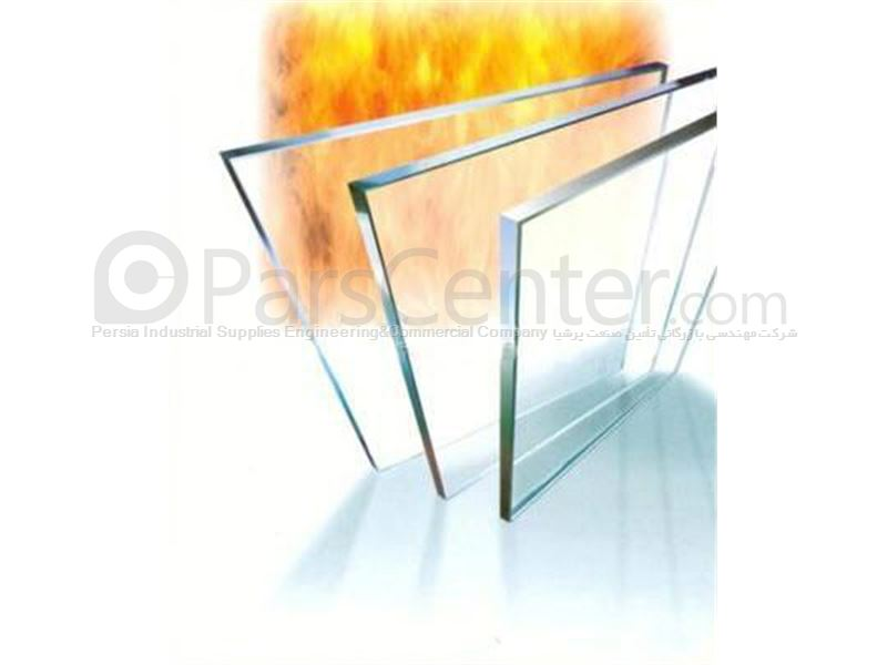 Fire-resistant protective glass