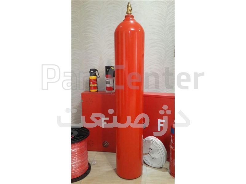 سیلندر 68 لیتری CO2 همراه شیر پنوماتیک زیمنس