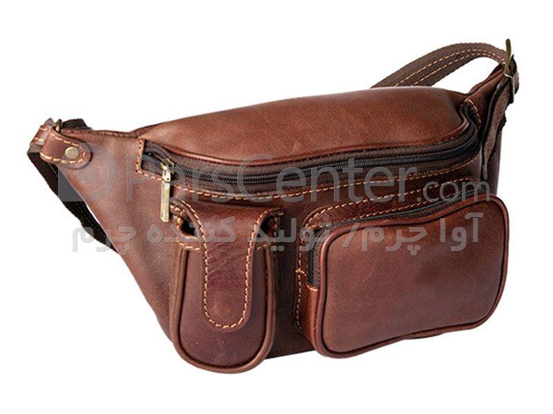 کیف کمری چرم
