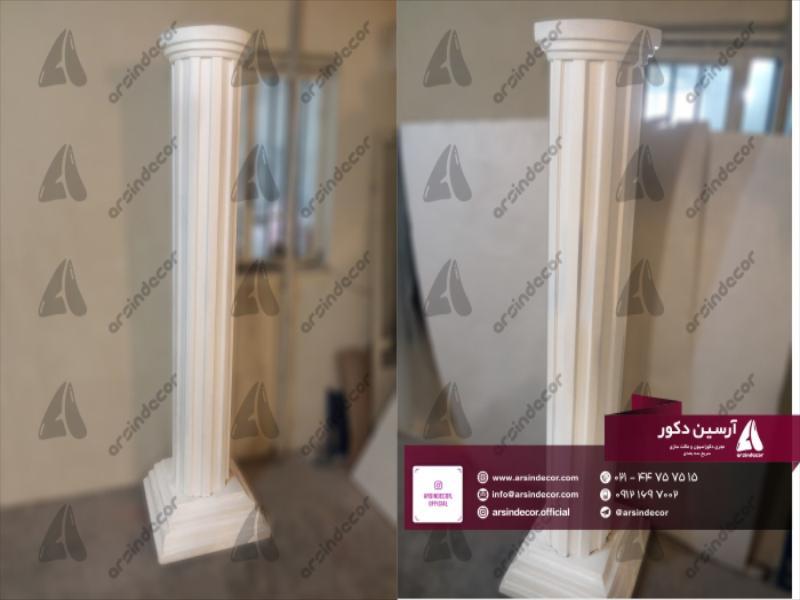 طراحی و ساخت ستون فایبر گلاس تخت جمشید