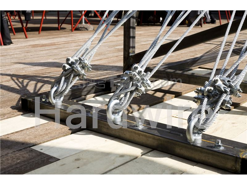 Steel wire rope for crane purpose