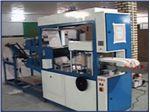 دستگاه تولید دستمال سفره ای با چاپ دو رنگ