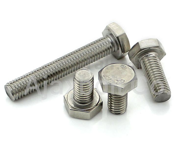 A270 Stainless Steel hex bolt 10X60