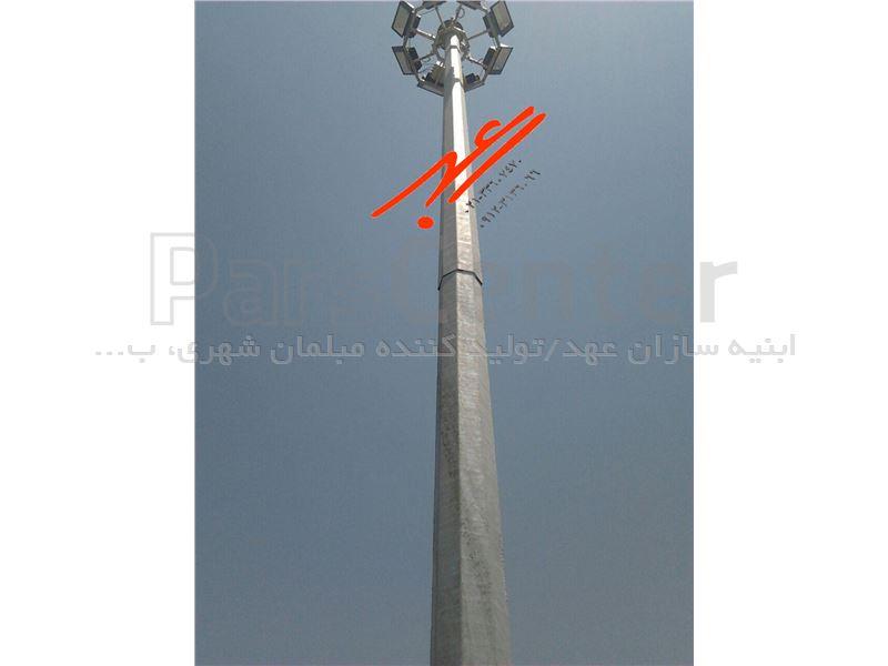 تولیدبرج نوری 6 متری با سیستم آسانسوری