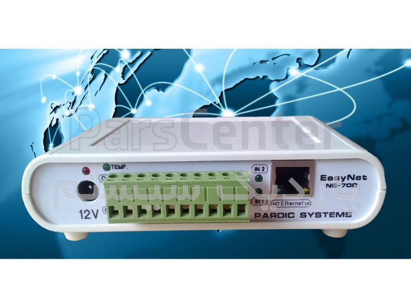 کنترل دستگاه صنعتی از طریق شبکه و اینترنت EasyNet