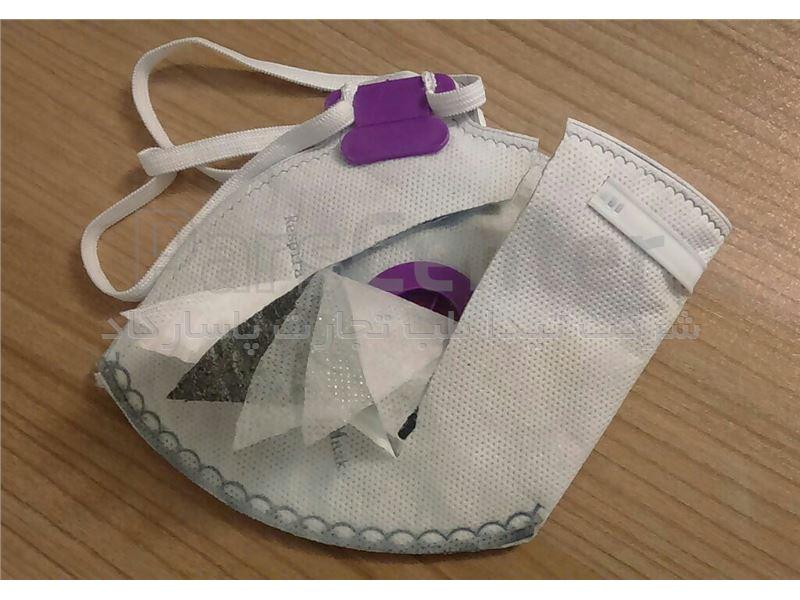 ماسک فیلتردار کربن دار N95