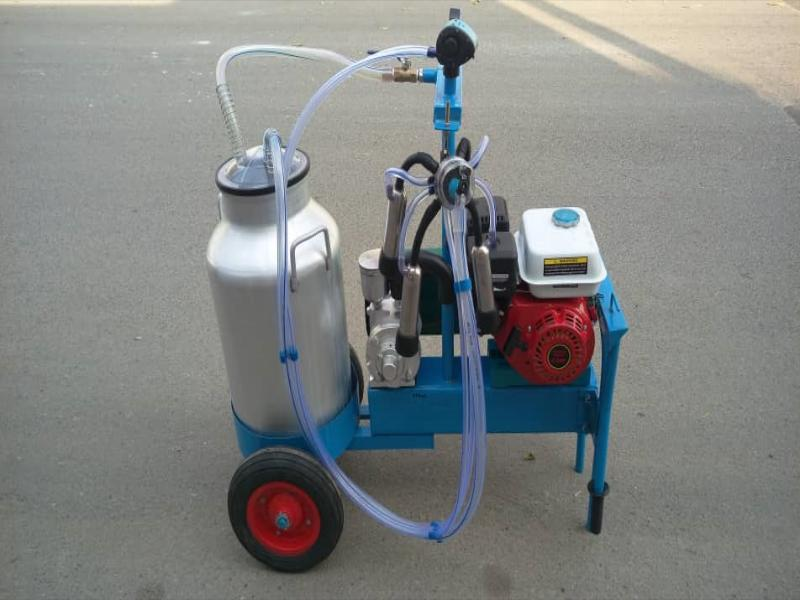 شیردوش بنزینی گاو