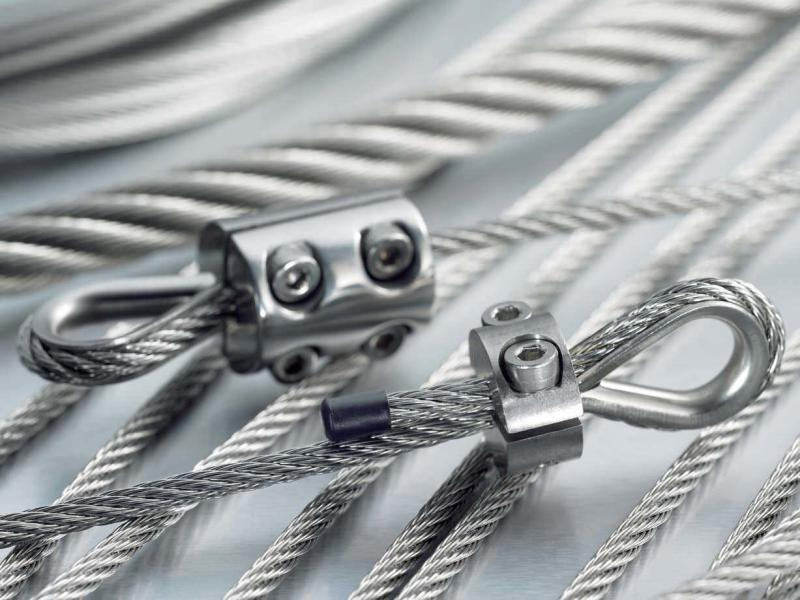 Stainless steel wire rope accessories
