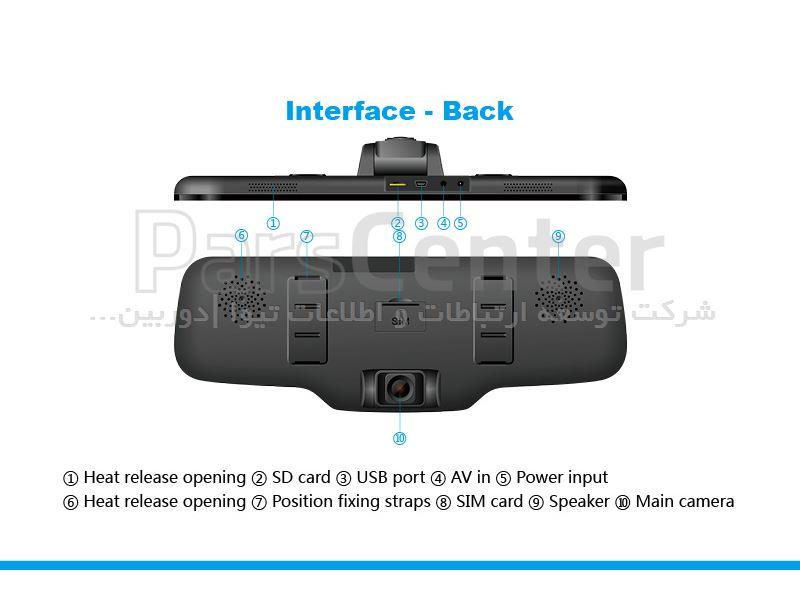 دی وی آر سیم کارتی خودرو مدل CM900