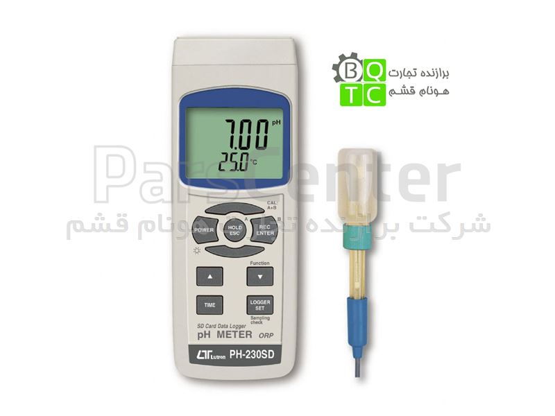 PH متر اسید سنج دیتالاگر LUTRON مدل PH-230SD