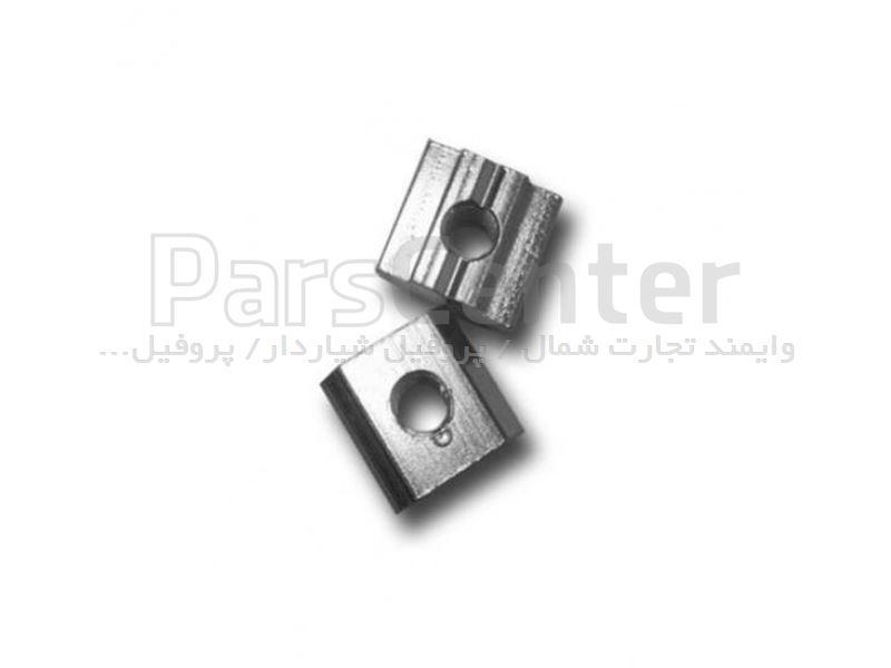 مهره تخت ام6 اتصالات پروفیل آلومینیوم