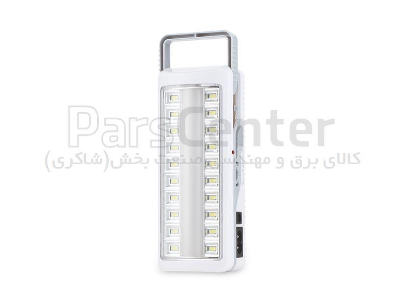 چراغ شارژی اظطراری دی پی تو کیفی  بسیار کوچک و پر نور 7105