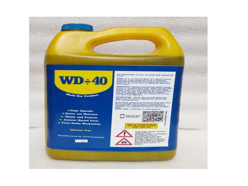روان کننده WDNG-40 در ظروف 4 و 10 و 20 لیتری