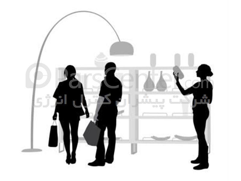 شمارشگر مشتریان نمایشگاهی