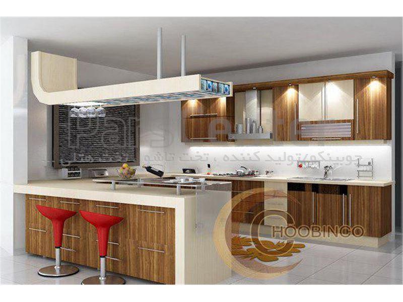 کابینت آشپزخانه و مصنوعات ام دی اف کمجا چوبینکو - مدل k10