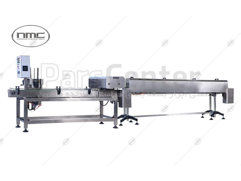 ماشین اتوماتیک دربند قوطی فلزی  , seamer