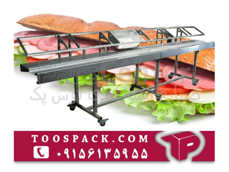 خط تولید ساندویچ سرد - محصولات تجهیزات صنایع غذایی در پارس سنترخط تولید ساندویچ سرد; خط تولید ساندویچ سرد ...