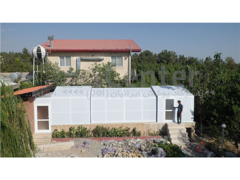 پوشش متحرک  سقف استخر شناء - کرج - شهرک سهیلیه