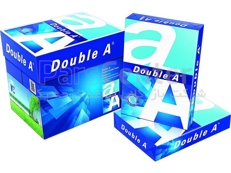 کاغذ A4 دابل آ بسته 500 عددی  DOUBLE A