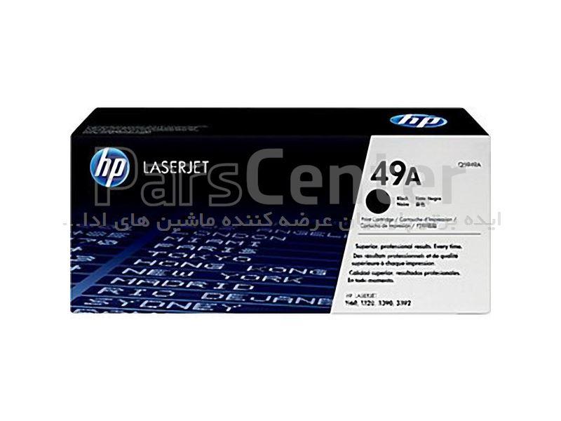 کارتریج لیزری مشکی HP (Q5949A) 49A