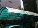 پوشش سقف پارکینگ با ورق پلی کربنات PS PK10