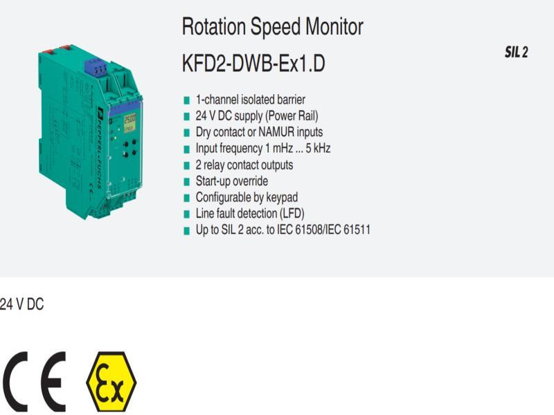 اسپید مانیتور KFD2-DWB-EX1.D