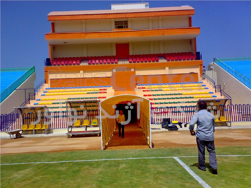 تونل ورود بازیکنان فوتبال آژندنوآور تونل ورود و خروج بازیکنان فوتبال