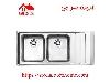 سینک ظرفشویی توکار کد 734 استیل البرز