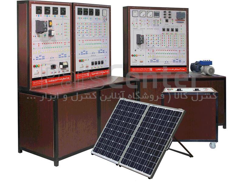 تابلو آموزشی سیستم های قدرت مدل power-1.12