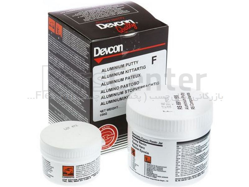 اپوکسی آلومینیوم دوکون Devcon Putty B – Plastic Steel Liquid ایرلند