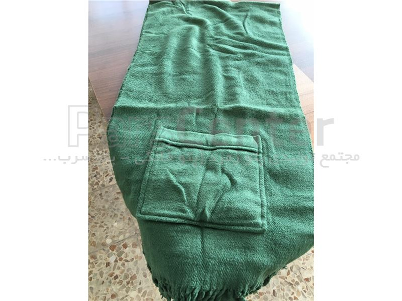 شال گردن سبز رنگ زمرد
