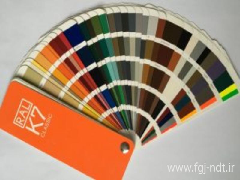 رنگ رال  color roll k7
