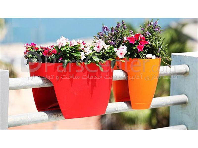 ساخت قالب تزریق پلاستیک انواع گلدان های شهری و میادین
