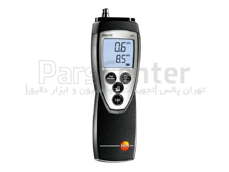 فشارسنج تفاضلی (TESTO 510(0...20hpa