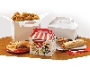 جعبه همبرگر و پیتزا