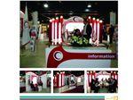 غرفه هلال احمر در نمایشگاه ایران هلث