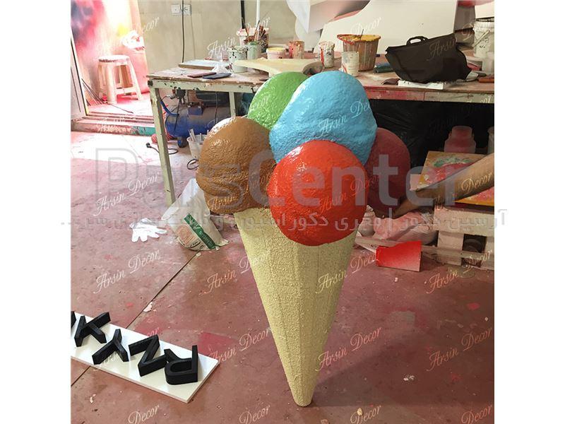 ماکت های تبلیغاتی بستنی