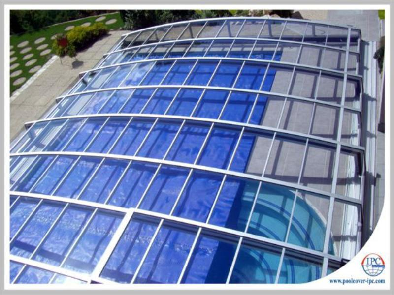 پوشش سقف استخر متحرکqr6