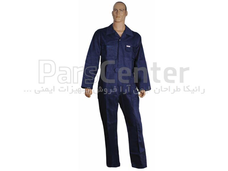 لباس کار ایمنی یکسره Euro safety مدل coverall-MS
