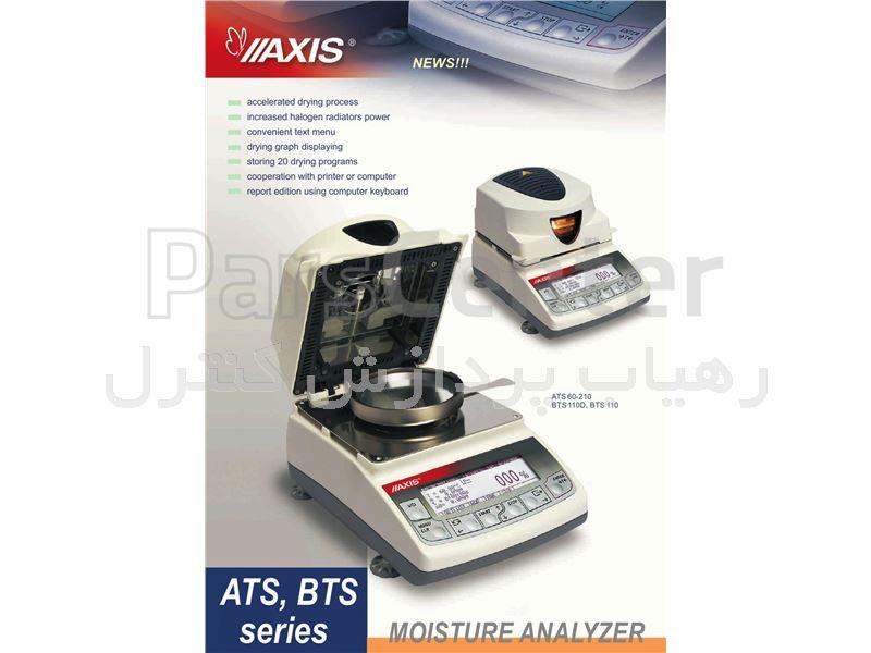 ترازوی دیجیتالی رطوبت سنج هالوژن مدل AST 60 ساخت کمپانی AXIS لهستان