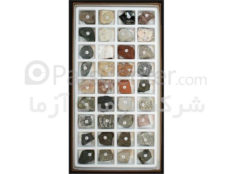 انواع جعبه سنگ کانیها قلم سختی مقاطع نازک و صیقلی