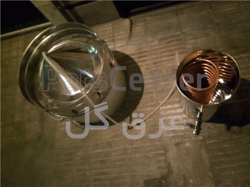 دستگاه عرق گیری /دستگاه گلاب گیری مدل زودپزی