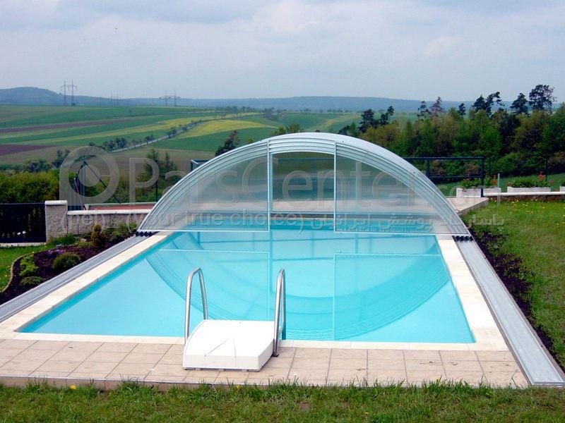 pool enclosures  models arc - پوشش استخر مدل قوسی