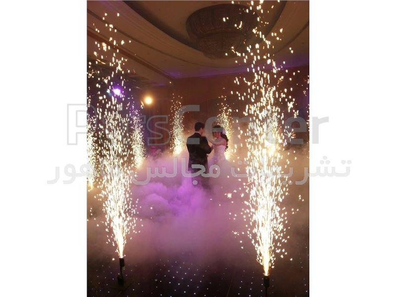 اجرای موزیک ونورپردازی مراسم عروسی